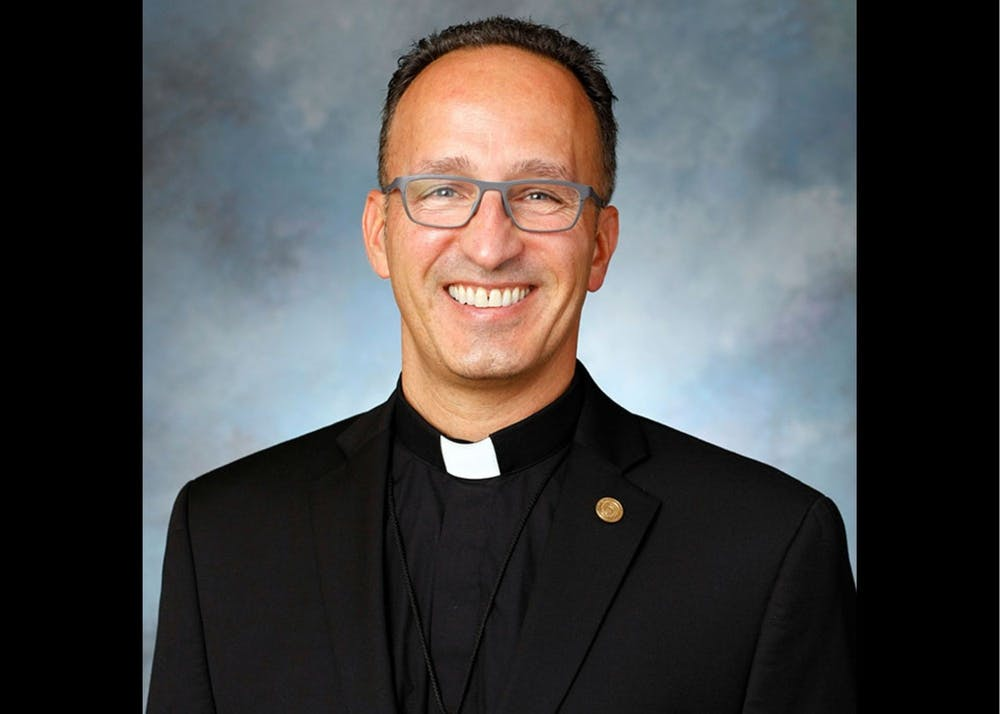 Fr. John Donato is the vice president for Student Affairs. Photo: UP Marketing and Communications.