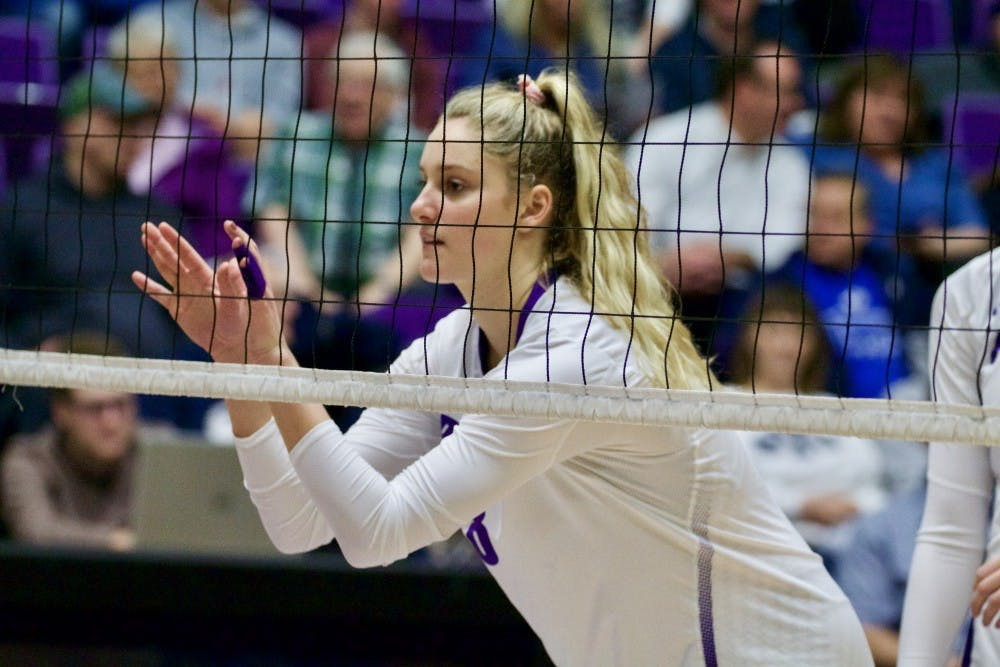 Junior Liz Reich recorded 219 kills in 2018.