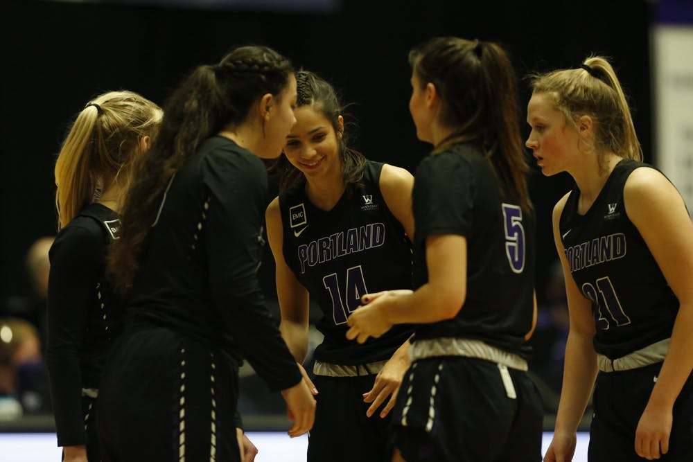 Women's basketball came up short in their home opener.Media Credit: University of Portland Athletics