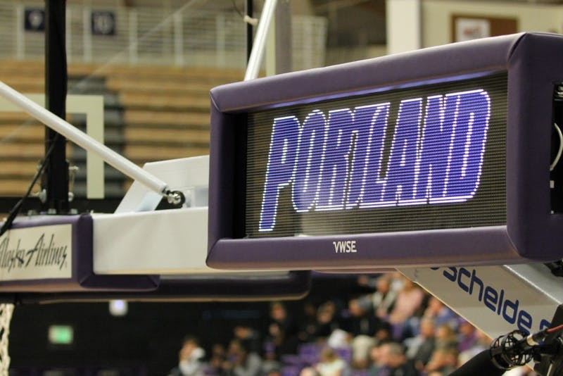 Men's basketball began the season with a game against PSU.