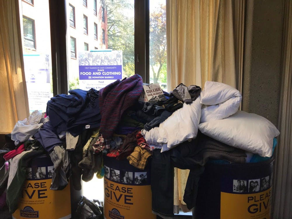 Students can donate used items to charity thanks to 'Donate with