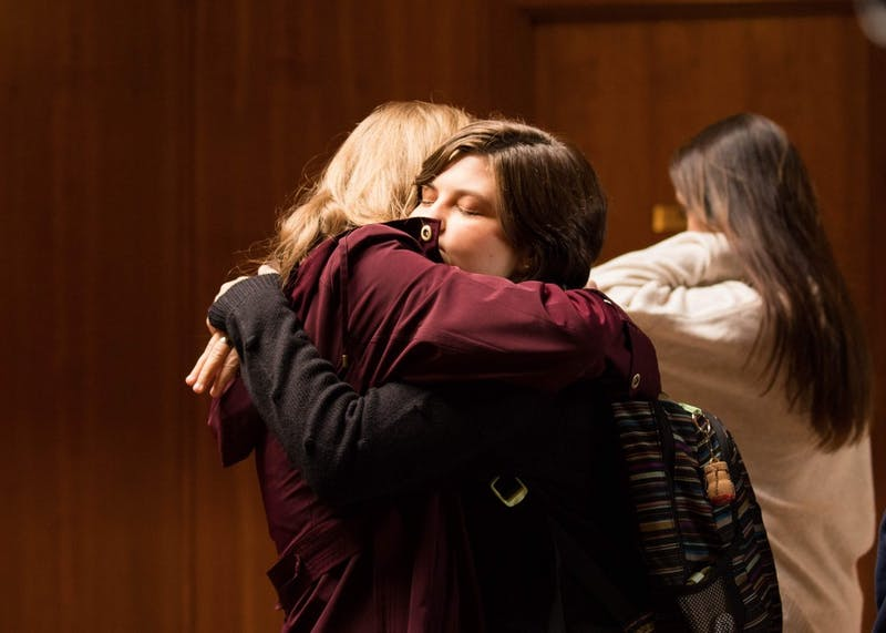 Family and friends of Owen Klinger gathered for a Mass in his memory.