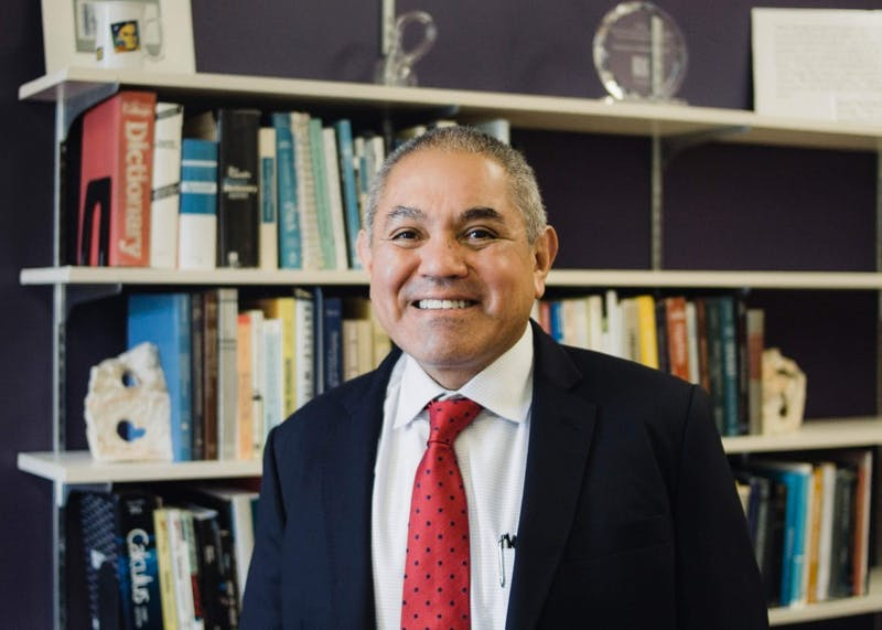 The new Dean of College of Arts and Sciences, Herbert Medina, is a first-generation college student who immigrated from El Salvador.