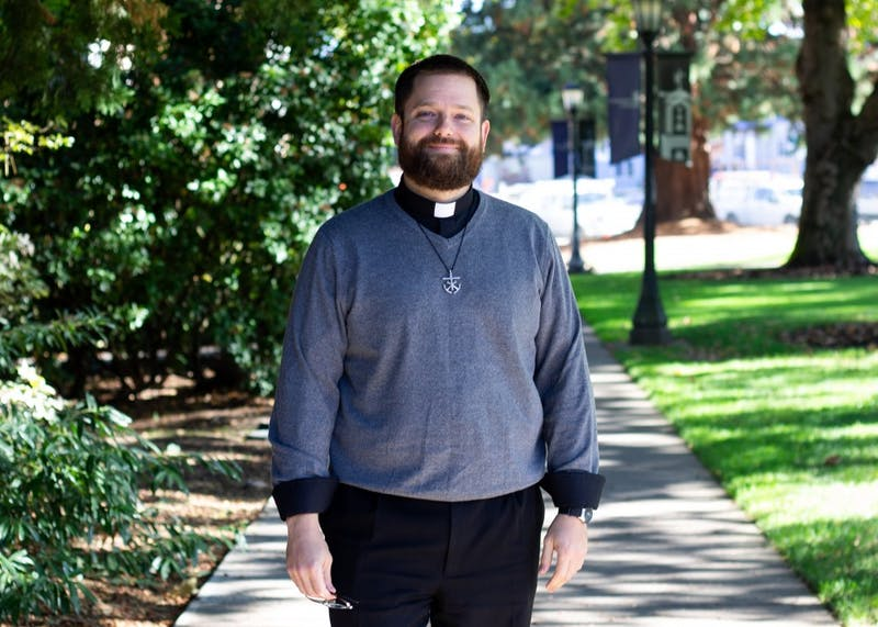 Rev. James Gallagher, director of Campus Ministry and Pastoral Resident of Mehling Hall, shared his reflections and opinions with The Beacon on recent cases of sex abuse within the Catholic Church.