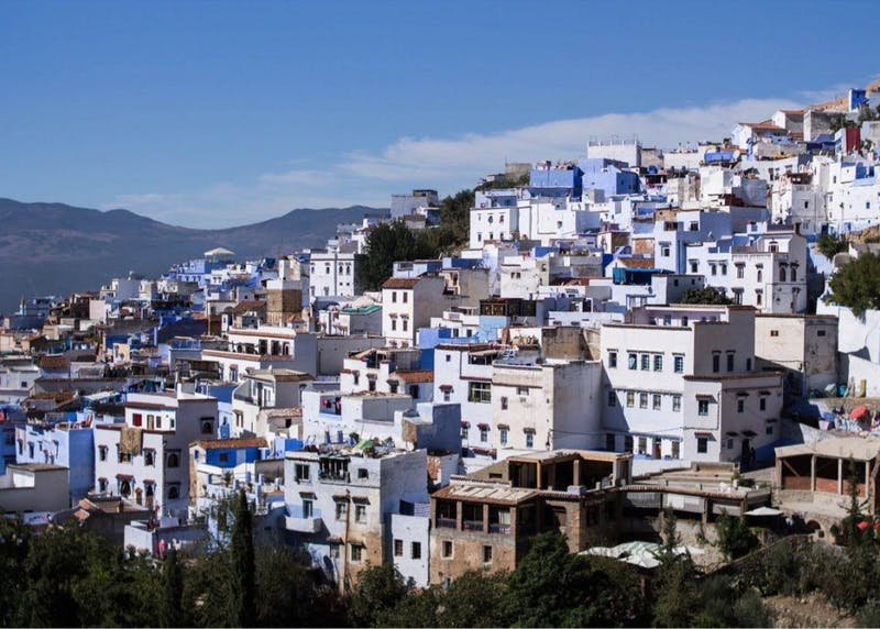 A part of the study abroad program in Morocco will take students to visit the city of Chefchaouen.