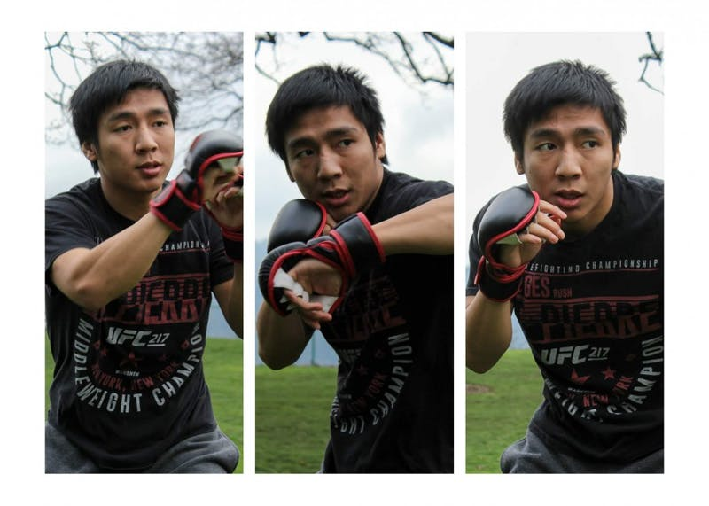 Silas Yeak has been an MMA fighter since high school. He started with learning Muay Thai.