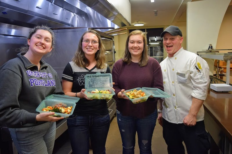 For the first time ever Bon App is teaching students how to cook for themselves. On the menu for them tonight was Stir Fry.