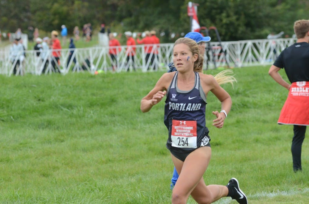 Redshirt senior Lauren LaRocco won WCC Runner of the Week for her performance at the Nuttycombe Invite.
