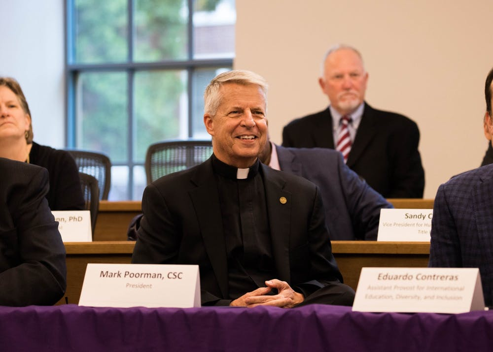 Fr. Mark Poorman, president of the University of Portland.