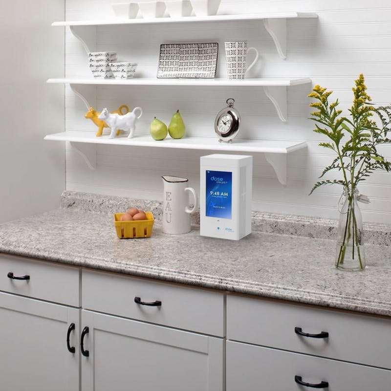 This is a rendered mock up of what the Dose Home Station might look like. Photo: Ryan Jarvis