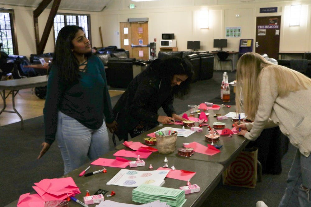 Students take part in Diversity and Inclusion Programs empowering valentines event writing valentines.