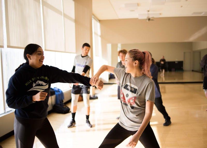 "Elena Kaoni described the ebb and flow of Taekwondo as a ""dance""."