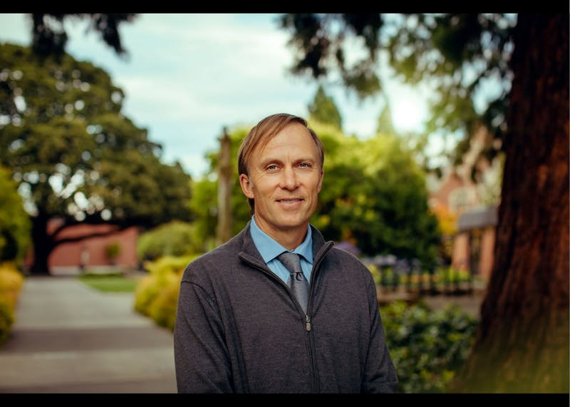 Andrew Guest is a psychology professor and the Core Curriculum Director. Photo courtesy of Andrew Guest.