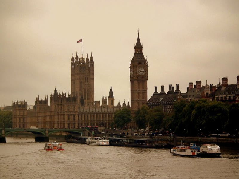 The Houses of Parliament and Westminster Bridge, shown in this photo, were the site of the attack Wednesday in London. Photo from Wikimedia Commons.