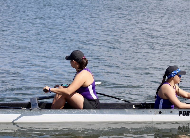 News and Managing Editor Olivia Sanchez is a senior on the rowing team.