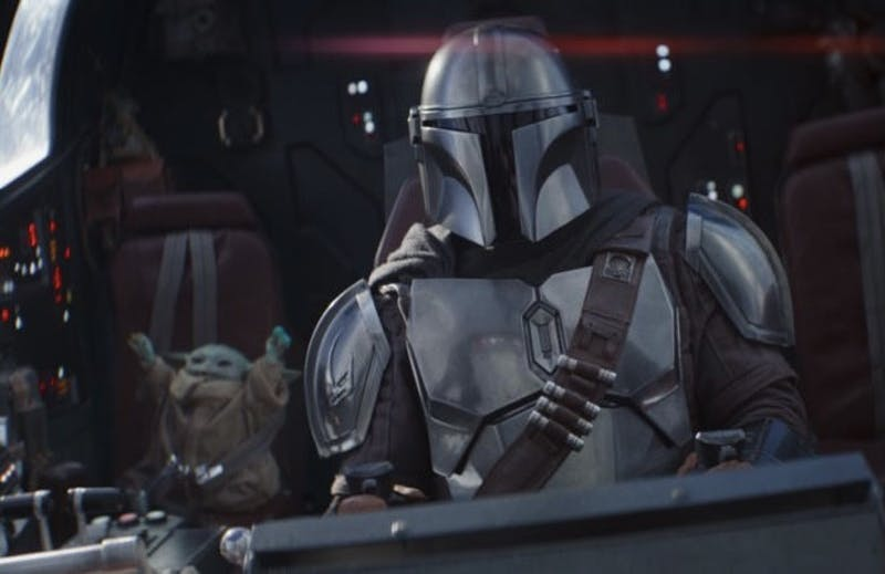"""In """"The Siege"""", Mando and friends uncover details about Imperial experiments while on a mission to destroy the Empire's last outpost on Nevarro. Photo: Star Wars."""