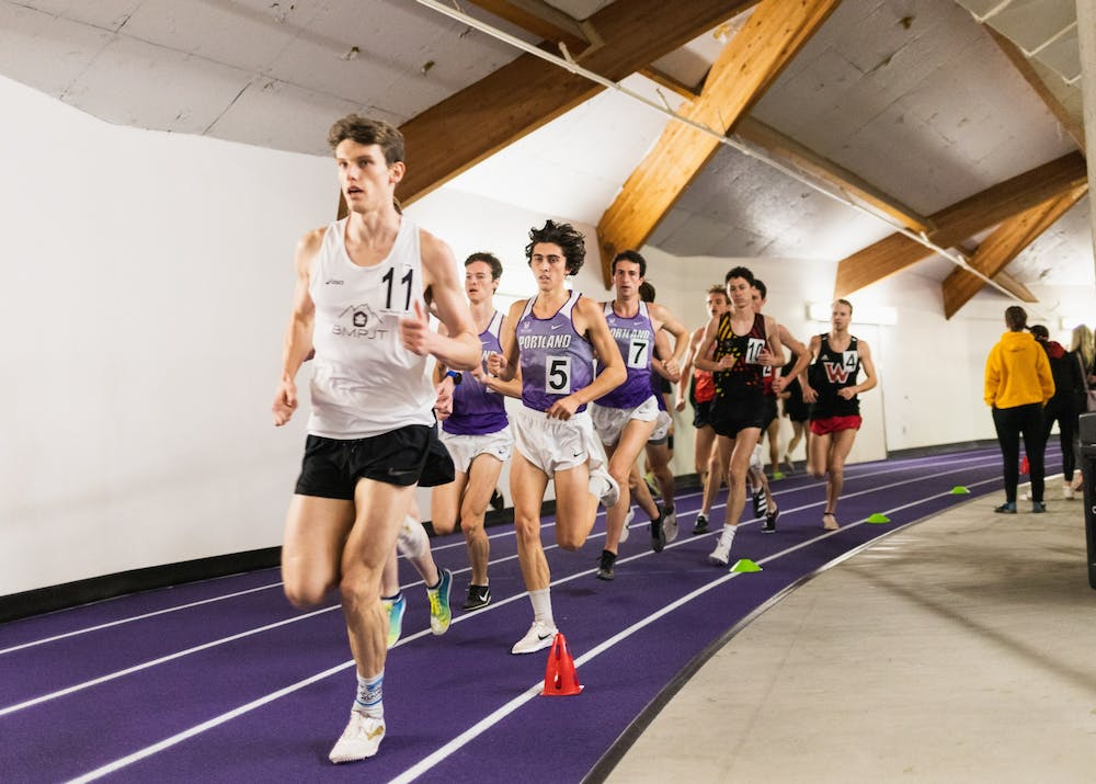GALLERY: Pilots host first ever Portland Indoor meet