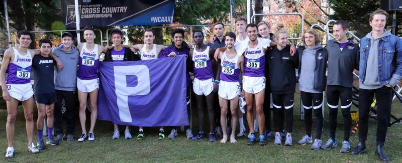 The men's cross country team racked up quite a few awards over the summer.