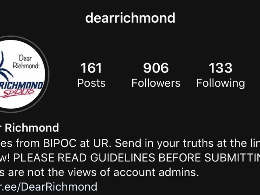 Screenshot of the account, @dearrichmond, on Instagram.