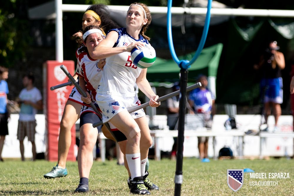 <p>2015 University of Richmond alumna Julia Baer plays on the U.S. Quidditch national team. <em>Photo courtesy of Julia Baer</em></p>