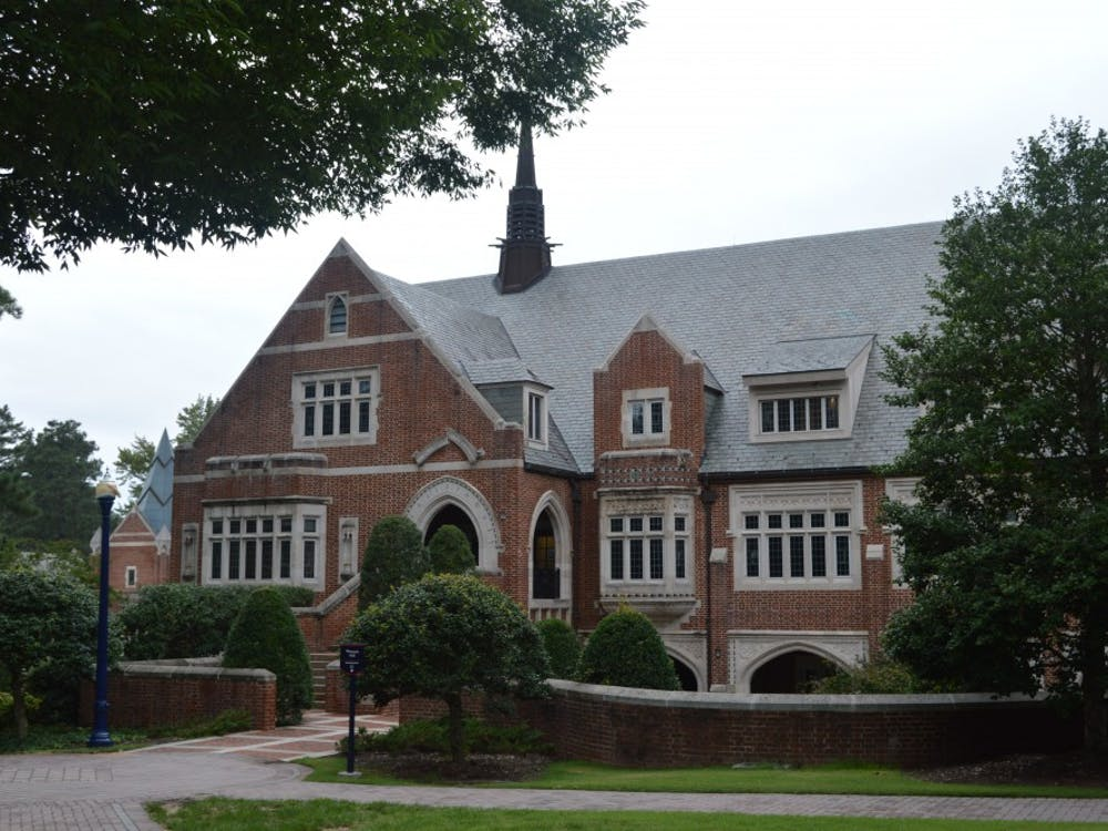 Weinstein Hall, home of the journalism department.