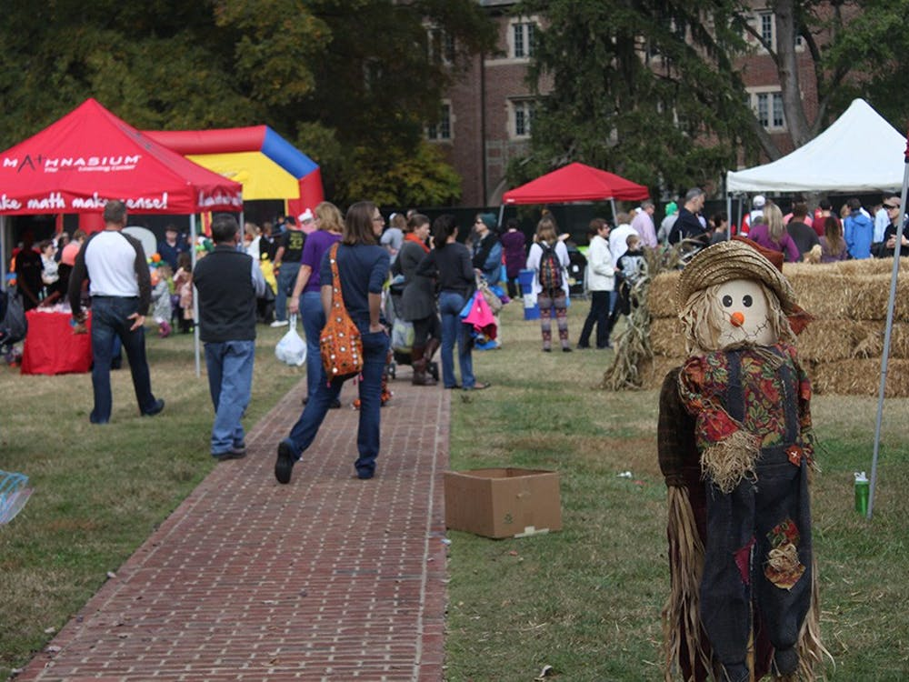 The Center for Student Involvement held its annual Trick or Treat Street Sunday. Student organizations held Halloween-themed activities for local children. Photos by Evan McKay.