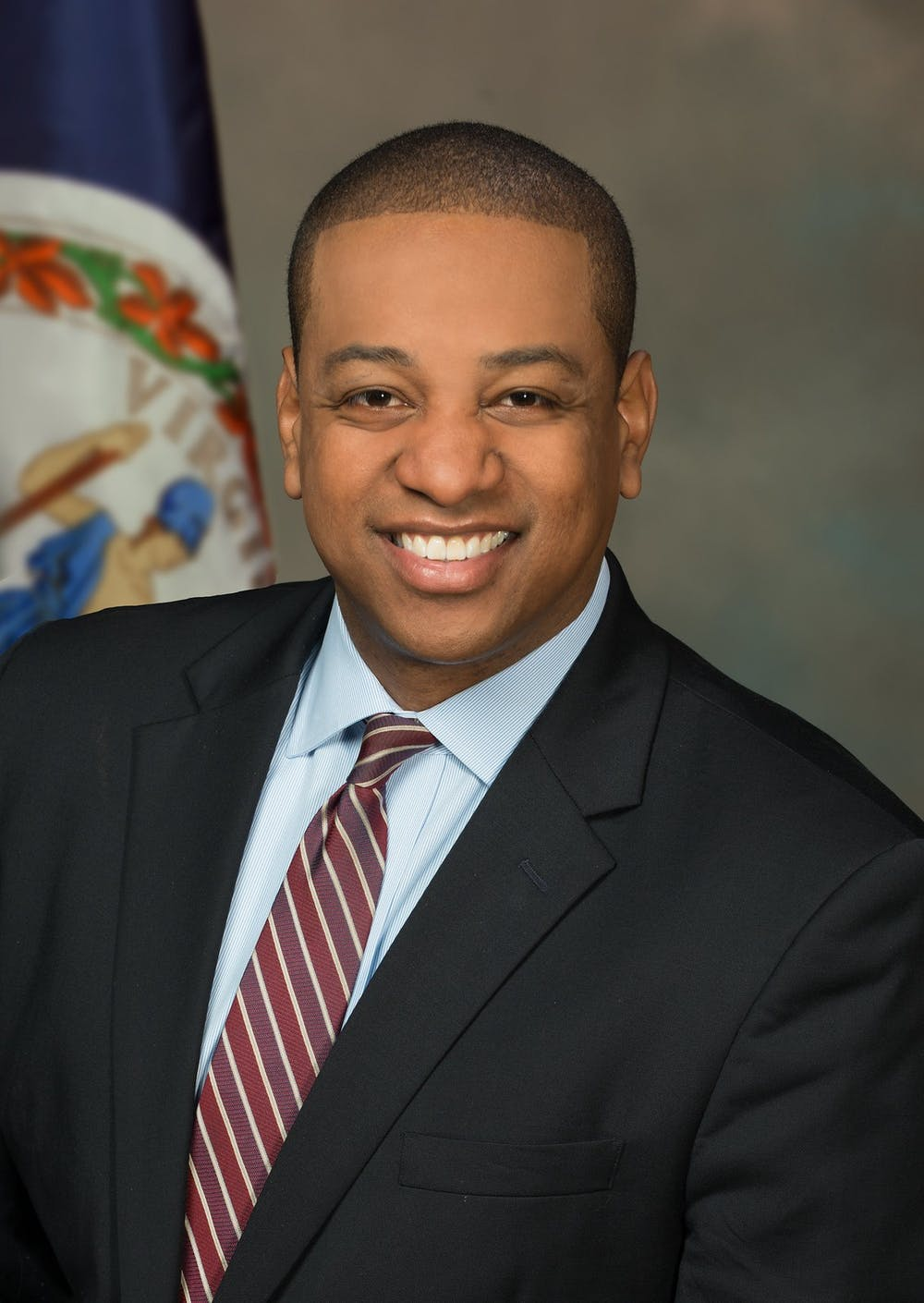 <p>A portrait of Virginia Lt. Gov. Justin Fairfax. <em>Photo courtesy of the Lieutenant Governor's website</em></p>
