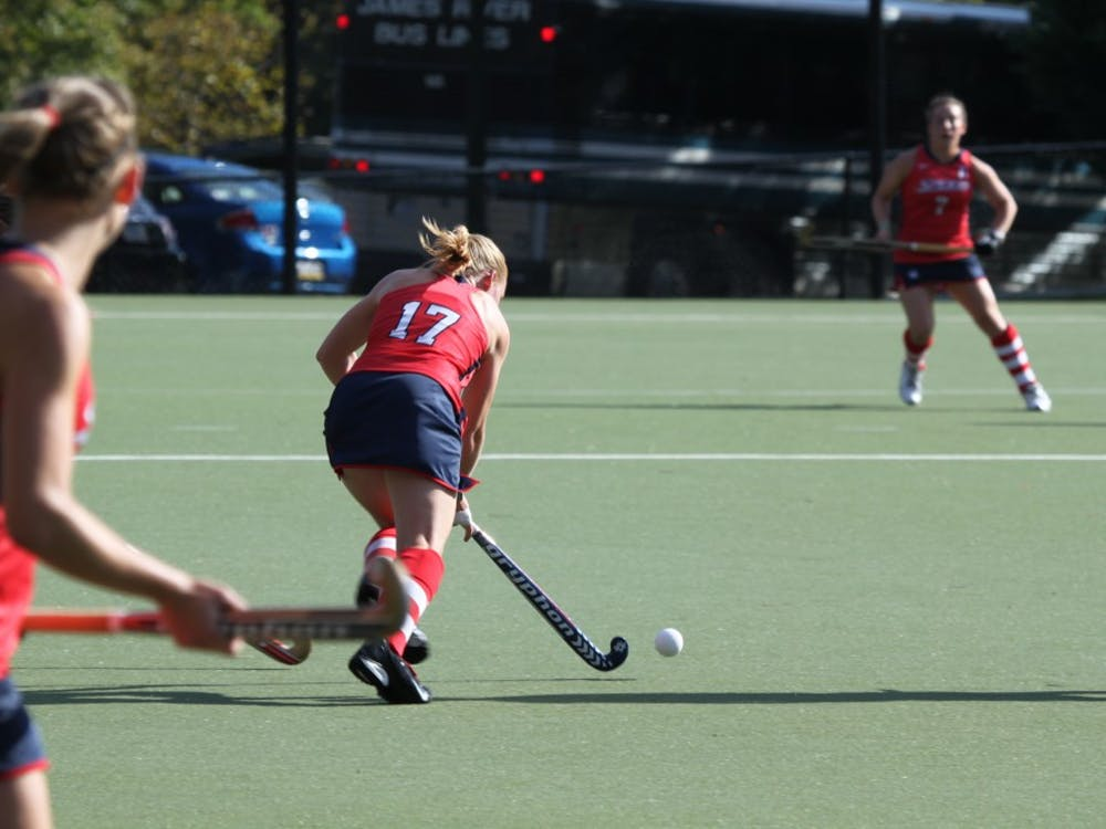 The women's field hockey team defeated Massachusetts 1-0 on Friday.