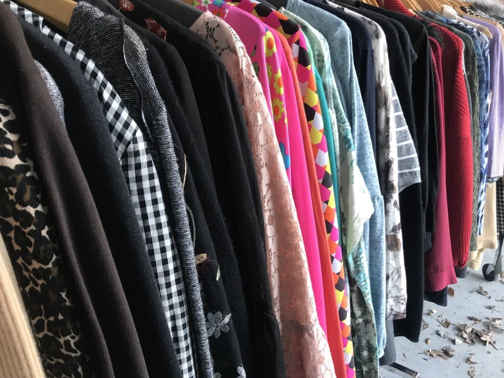 Indigo Avenue offers a variety of gently used women's clothing.