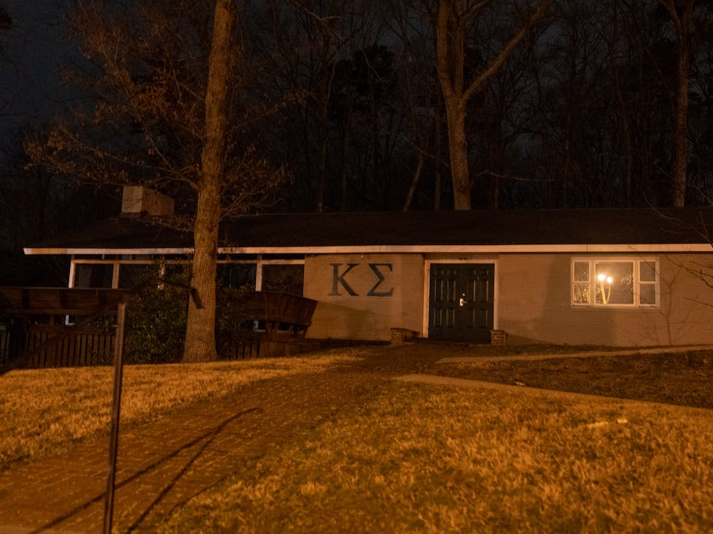 The lodge for the Kappa Sigma fraternity.