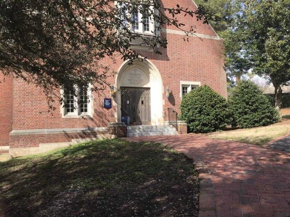 The Virginia Baptist Historical Society.