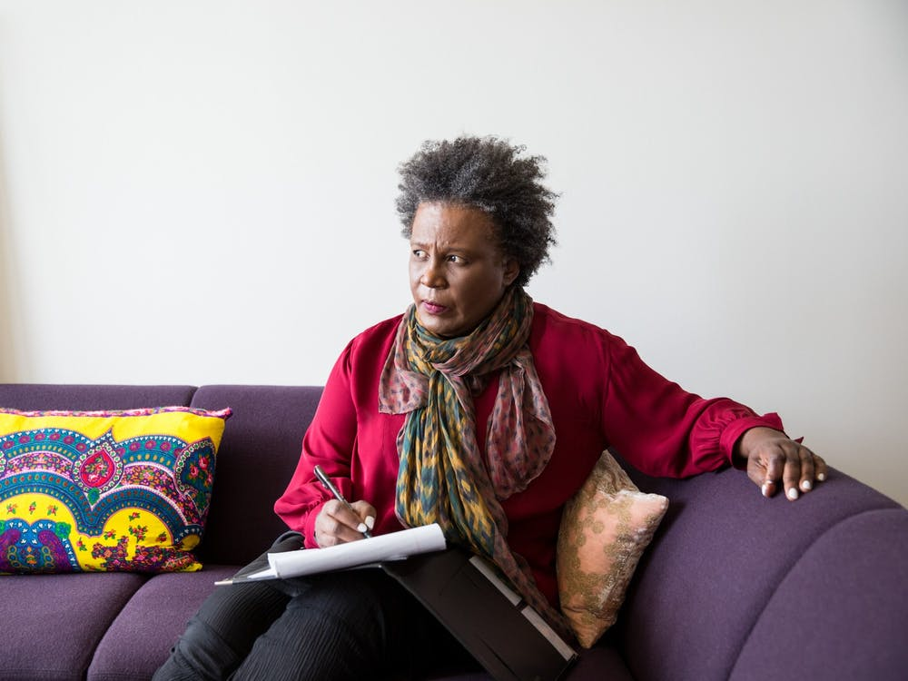 Claudia Rankine, 2016 MacArthur Fellow, New York, New York, September 7, 2016. © John D. and Catherine T. MacArthur Foundation- used with permission.