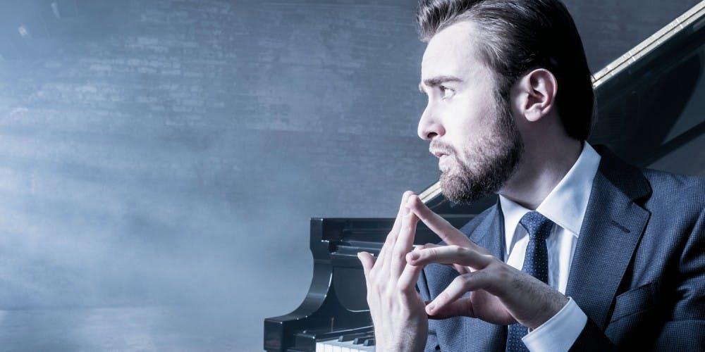 <p>Daniil Trifonov, Grammy-award winning pianist. <em>Image courtesy of Modlin Center for the Arts.</em></p>