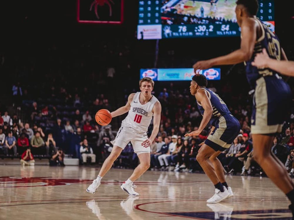 The Richmond Spiders beat George Washington University 76-54 in front of a sold-out crowd on Saturday, Feb. 1, 2020. Photo courtesy of Richmond Athletics