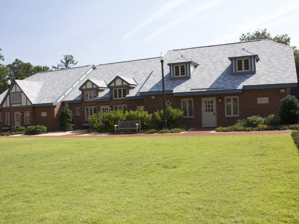 Thecottages are non-residential meeting areas for each sorority in the Greek community.