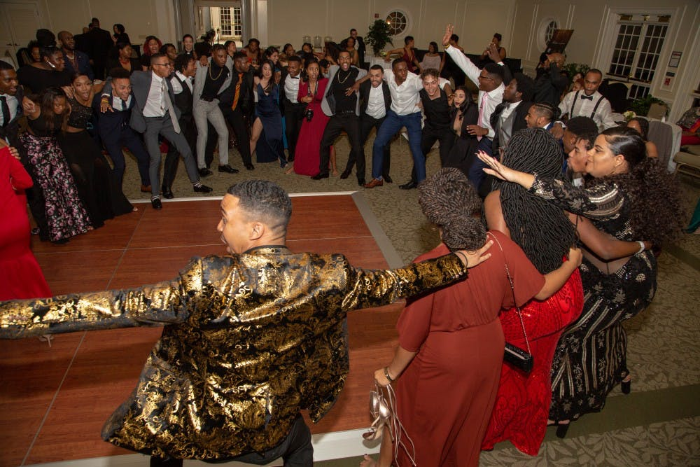 <p>Attendees dance together at the inaugural Black Excellence Gala. <em>Photo courtesy of Kim Lee Photography.</em></p>