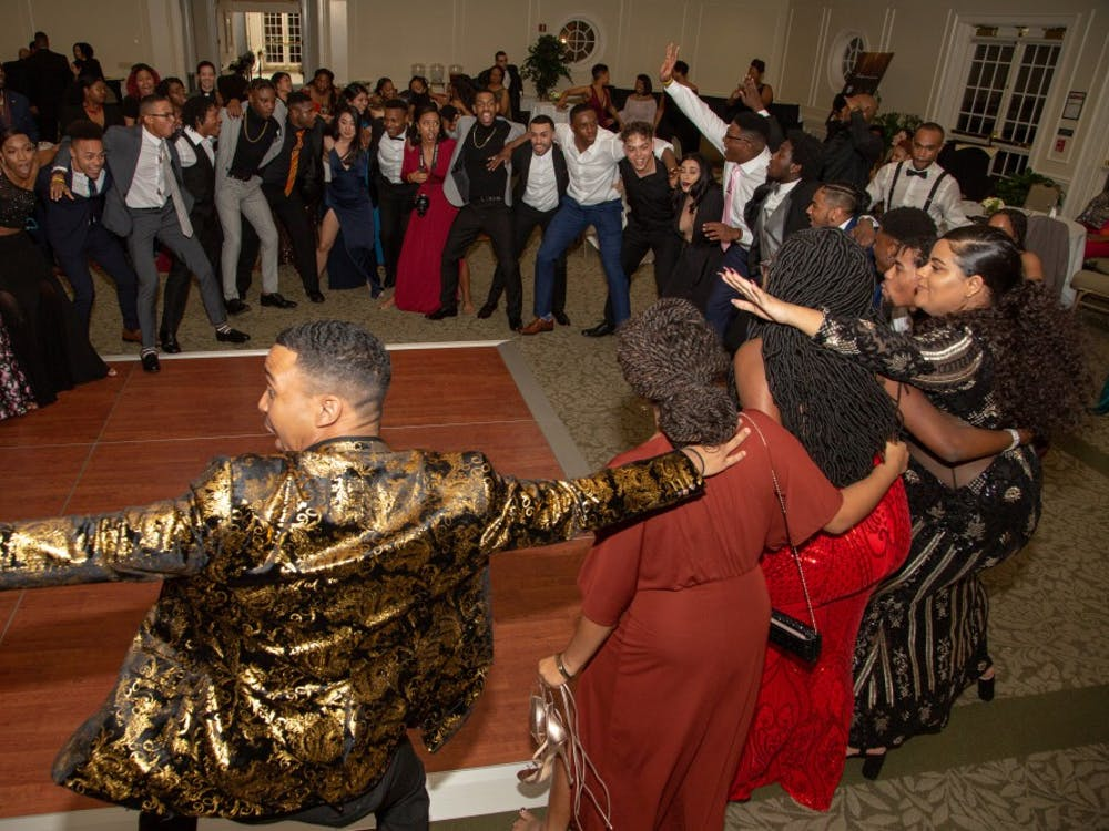 Attendees dance together at the inaugural Black Excellence Gala. Photo courtesy of Kim Lee Photography.