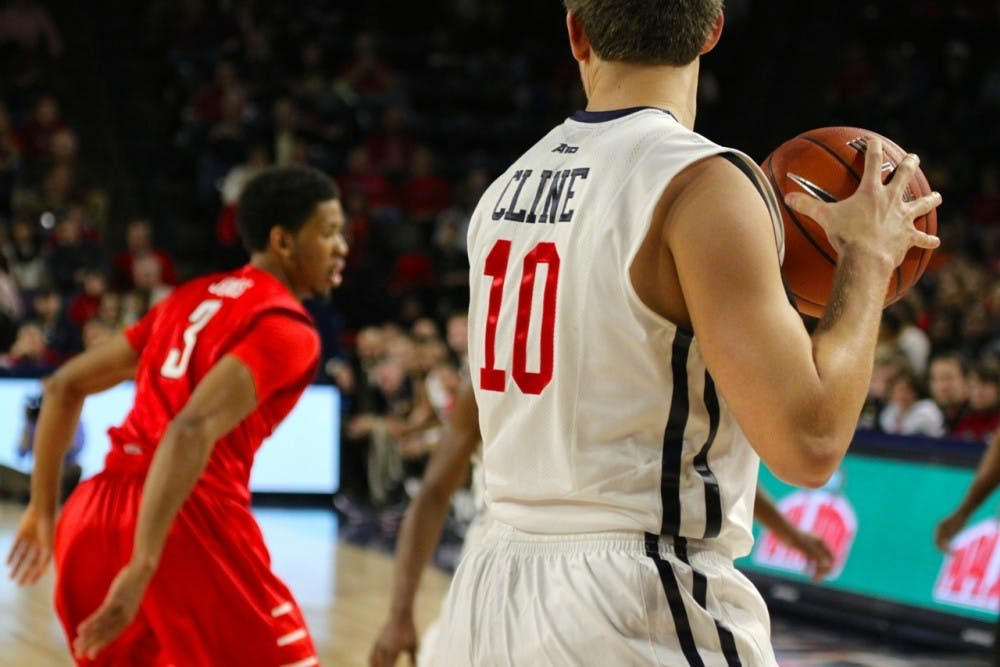 <p>TJ Cline is one of a few Spiders to enjoy preseason acknowledgement as the basketball season approaches.</p>