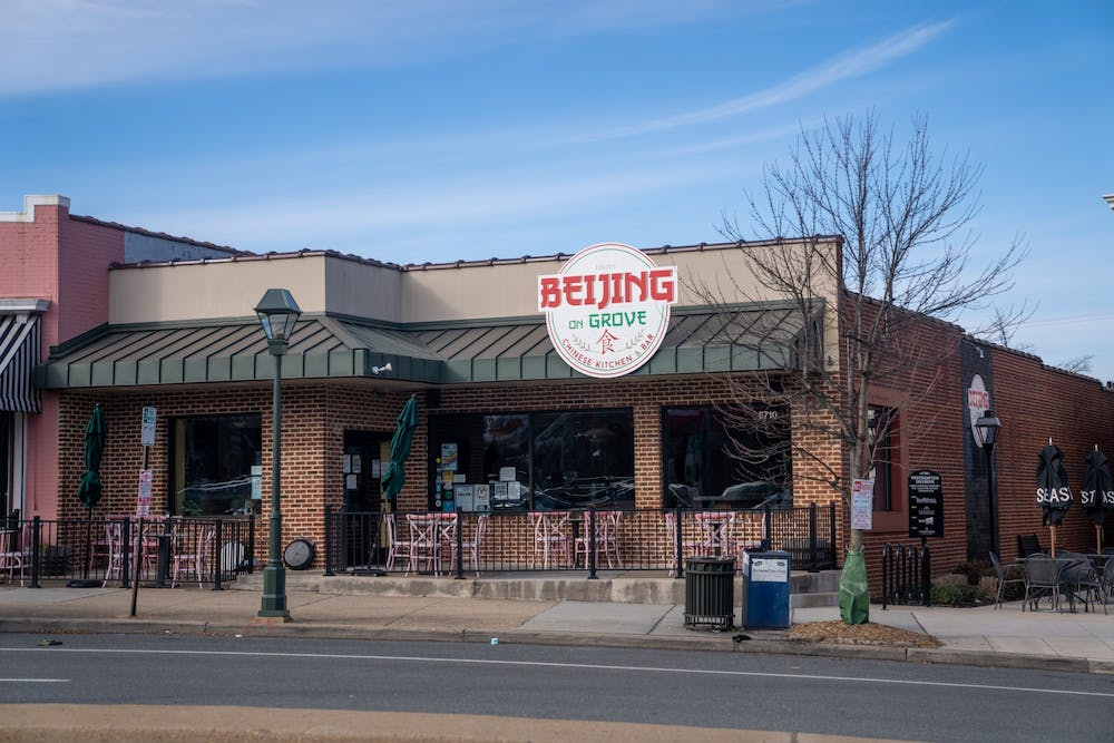 <p>Beijing on Grove is a restaurant approximately three miles away from campus. Its food can be delivered to campus through Chop Chop RVA.</p>