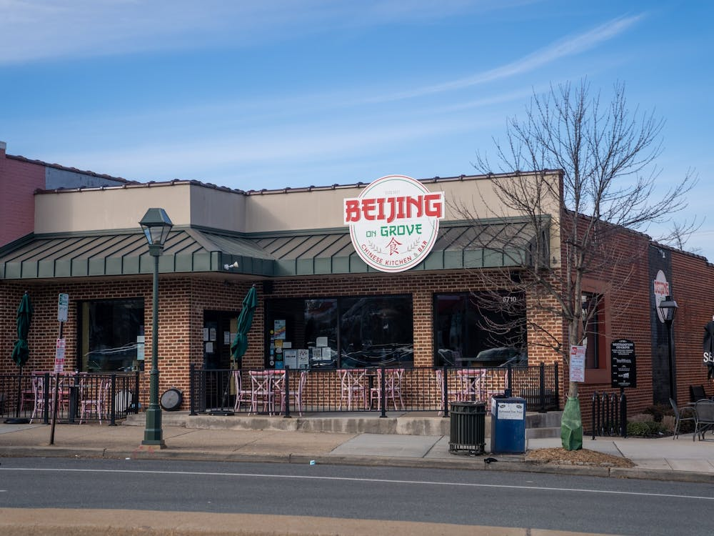 Beijing on Grove is a restaurant approximately three miles away from campus. Its food can be delivered to campus through Chop Chop RVA.