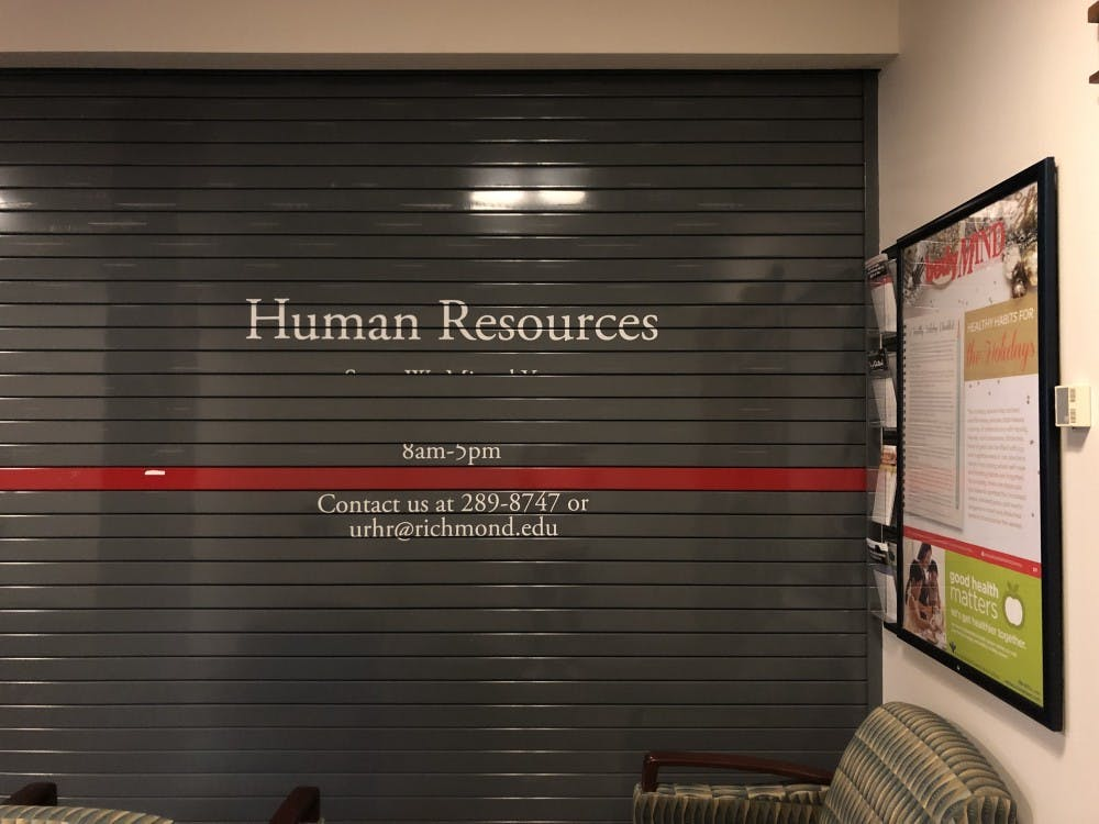 The human resources department is located in the first floor of Weinstein Hall.