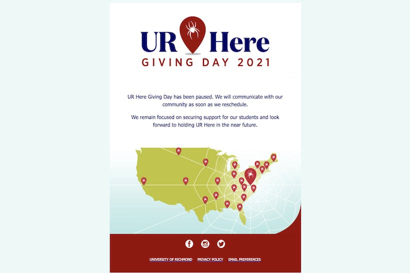 UR Here Giving Day 2021
