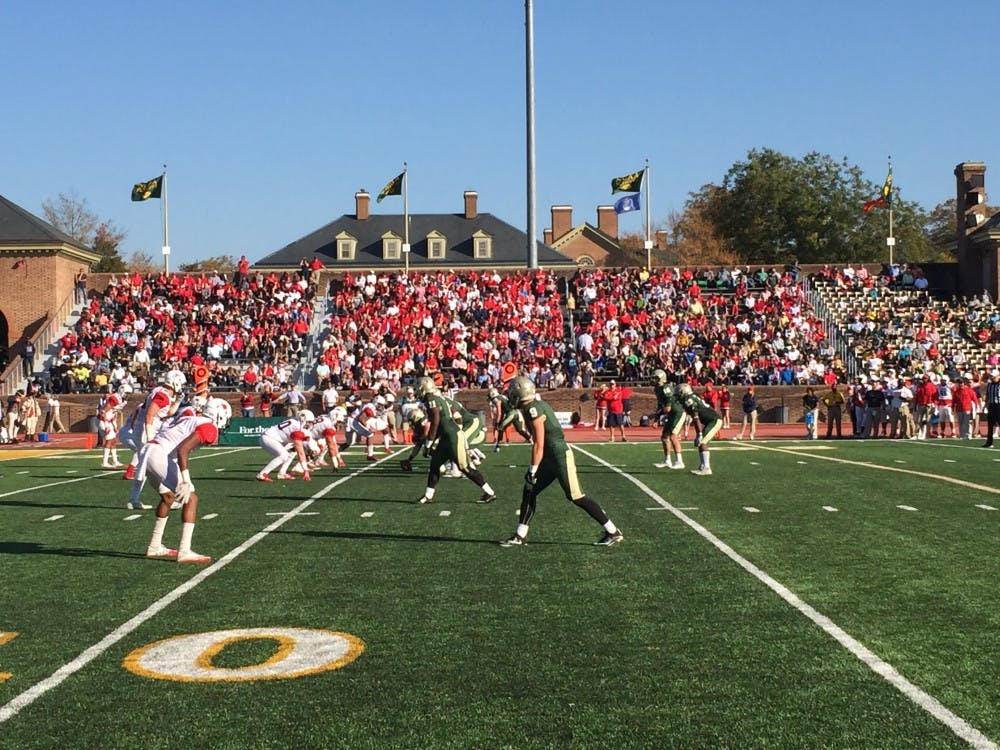 <p>William & Mary controlled the line of scrimmage throughout its win over Richmond on Saturday.&nbsp;</p>