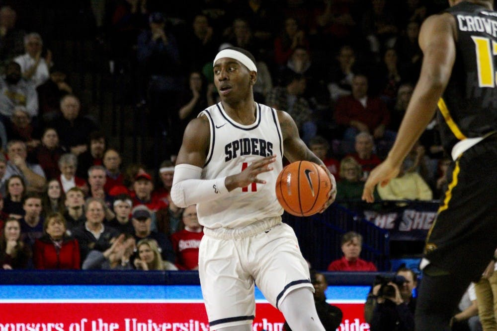 <p>Sophomore starting guard De'Monte Buckingham was dismissed&nbsp;on Wednesday&nbsp;from the men's basketball&nbsp;team for a violation of athletic department policies.</p>