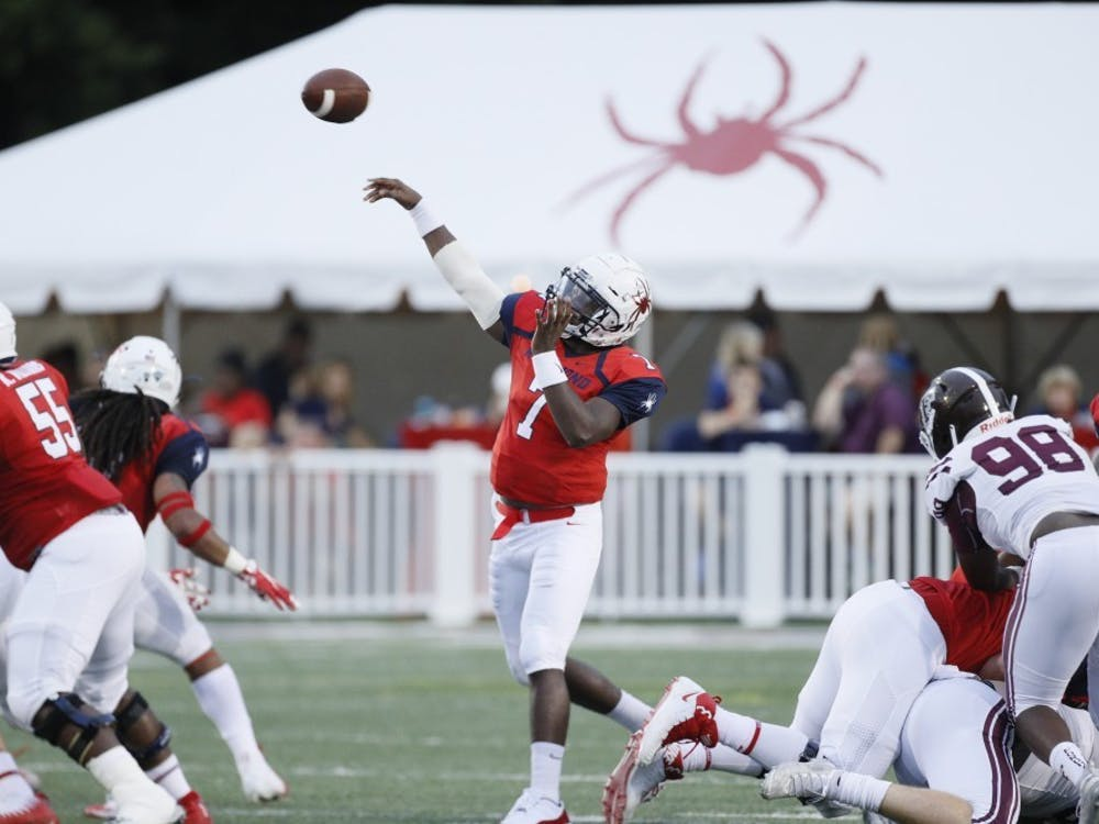 Quarterback Kevin Johnson went 29 for 40 with 297 yards Saturday in a loss at Stony Brook.