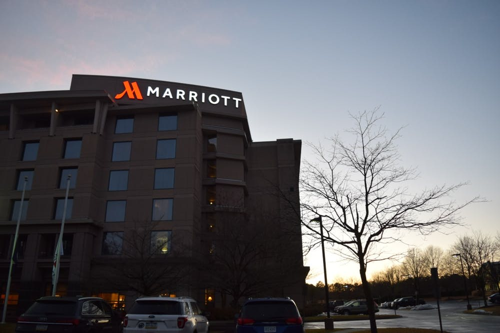 <p>The Richmond Marriott Short Pump is located in Glen Allen, Virginia. It is approximately seven miles away from the University of Richmond campus.</p>