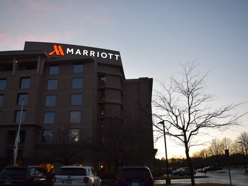 The Richmond Marriott Short Pump is located in Glen Allen, Virginia. It is approximately seven miles away from the University of Richmond campus.