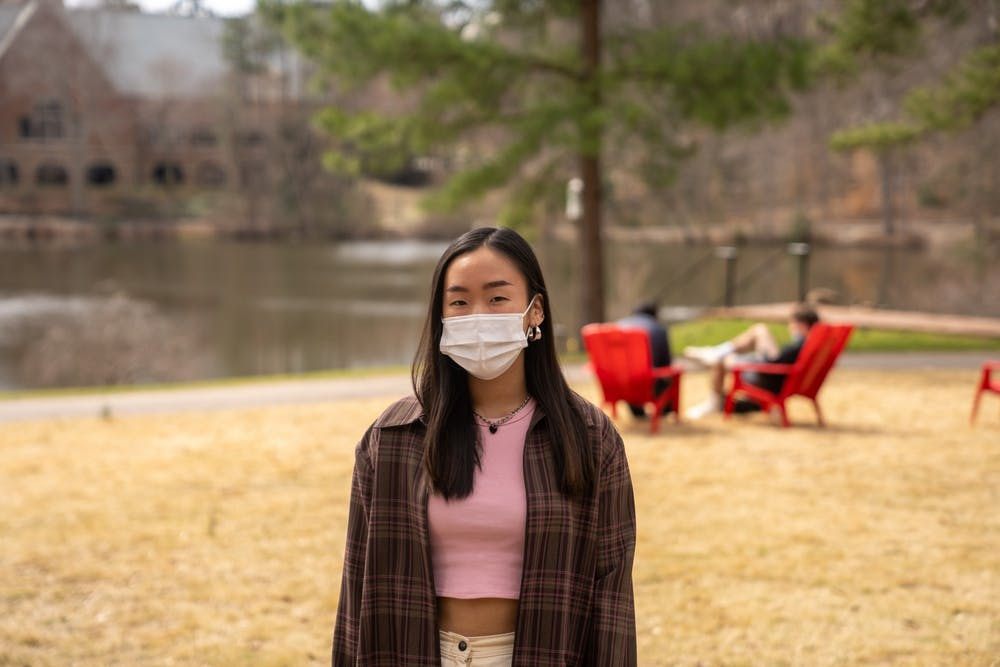 <p>First-year student Yuna Chung has experienced racist attacks since the beginning of the pandemic, she said.</p>