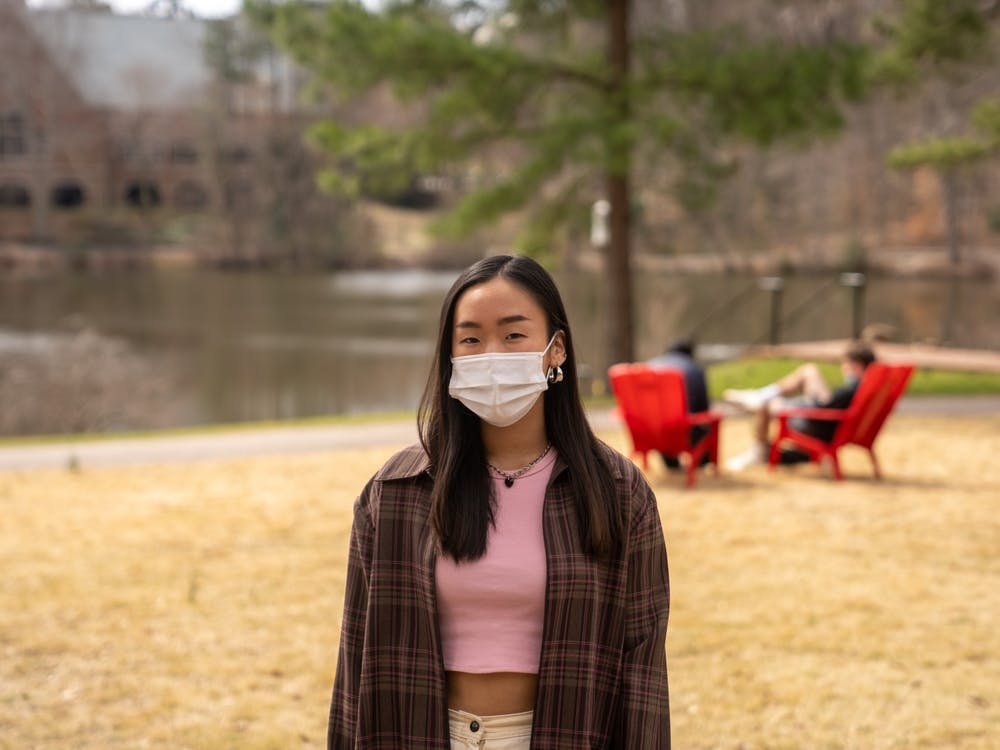 First-year student Yuna Chung has experienced racist attacks since the beginning of the pandemic, she said.