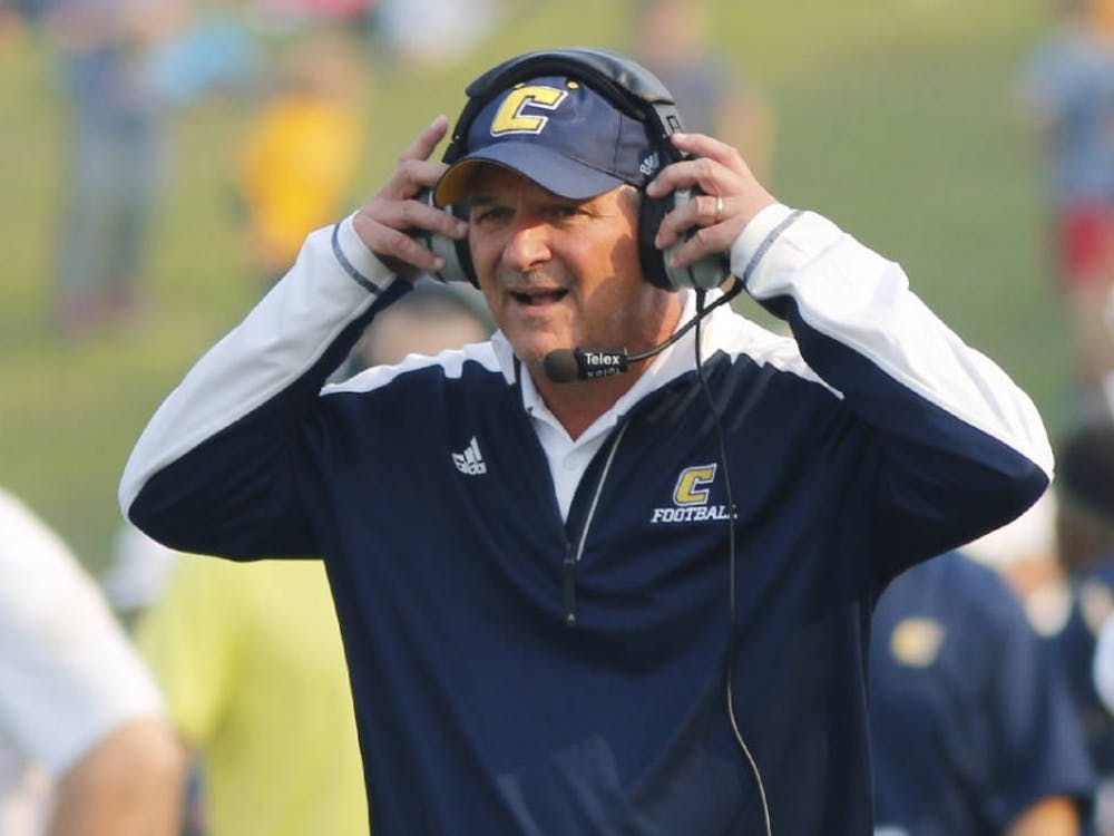 Russ Huesman will be introduced as Richmond's next head football coach at 4 p.m. Wednesday.